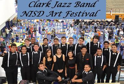 20160429 Clark Jazz Band at NISD Art Festival
