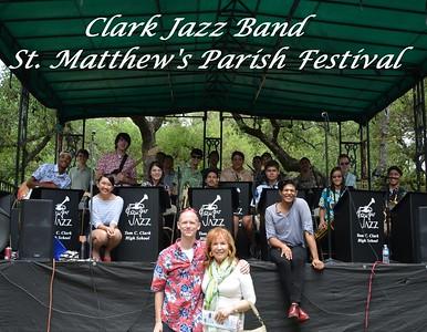20160501 Clark Jazz Band at St. Matthew's Parish Festival
