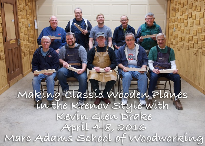 Making Classic Wooden Planes in the Krenov Style with Kevin Glen Drake
