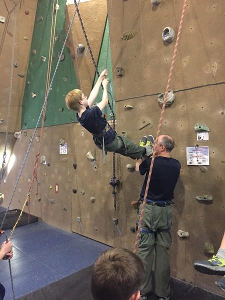 Climbing Lock-in