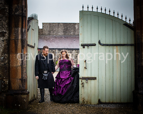 Jamie + Ivan Lissnaoure Castle Wedding