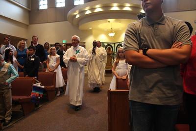 Communion/Confirmation Mass- April 10, 2016 (Set 1)