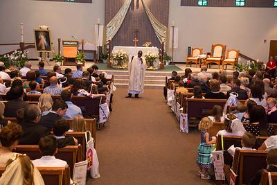 Communion/Confirmation Mass- April 17, 2016 (Set 1)