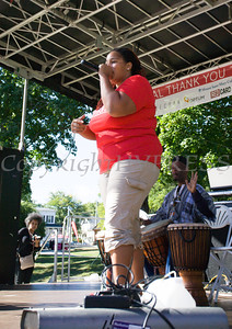 Poet U-Nice performs during Affinity Health Plans Third Annual Family Fall Festival in Downing Park on Saturday, September 24, 2016 in Newburgh, NY. Hudson Valley Press/CHUCK STEWART, JR.