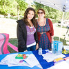 Natasha Carmona and Sarah Mack represent Access: Supports for Living at Affinity Health Plans Third Annual Family Fall Festival in Downing Park on Saturday, September 24, 2016 in Newburgh, NY. Hudson Valley Press/CHUCK STEWART, JR.