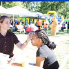 Children get their faces painted during the Affinity Health Plan Third Annual Family Fall Festival in Downing Park on Saturday, September 24, 2016 in Newburgh, NY. Hudson Valley Press/CHUCK STEWART, JR.