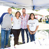 Peter Gonzalez, Olga Hernandez, William Andujar and Laura Garcia represent Latinos Unidos of the Hudson Valley at Affinity Health Plans Third Annual Family Fall Festival in Downing Park on Saturday, September 24, 2016 in Newburgh, NY. Hudson Valley Press/CHUCK STEWART, JR.