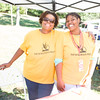 Elyse Williams and Oriana represent Newburgh Prep at Affinity Health Plans Third Annual Family Fall Festival in Downing Park on Saturday, September 24, 2016 in Newburgh, NY. Hudson Valley Press/CHUCK STEWART, JR.