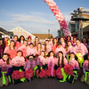 The FD Rosevelt Cheerleaders from Hyde Park cheered on thousands of people, including cancer survivors, their families and businesses, who participated in the annual American Cancer Society Making Strides Against Breast Cancer walk at Woodbury Common Premium Outlets in Central Valley, NY on Sunday, October 16, 2016. Hudson Valley Press/CHUCK STEWART, JR.