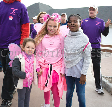 Thousands of people, including cancer survivors, their families and businesses, participated in the annual American Cancer Society Making Strides Against Breast Cancer walk at Woodbury Common Premium Outlets in Central Valley, NY on Sunday, October 16, 2016. Hudson Valley Press/CHUCK STEWART, JR.