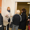 Eileen Hogan, Director of Patient Services, offers a tour as Crystal Run Healthcare celebrated the grand opening of, and cut the ribbon at, their new facility in the Village of Monroe on November 1, 2016. Hudson Valley Press/CHUCK STEWART, JR.