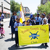Trinity Temple Young Warriors Club participated in the annual Father's Day Parade held in Poughkeepsie on Saturday, June 18, 2016. Hudson Valley Press/CHUCK STEWART, JR.