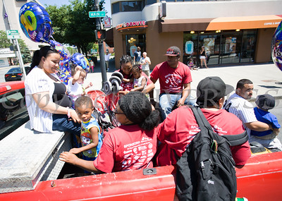 The annual Father's Day Parade was held in Poughkeepsie on Saturday, June 18, 2016. Hudson Valley Press/CHUCK STEWART, JR.