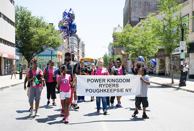 Power Kingdon Ryders participated in the annual Father's Day Parade held in Poughkeepsie on Saturday, June 18, 2016. Hudson Valley Press/CHUCK STEWART, JR.