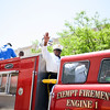 The Exempt Firemen's Association Engine 1 participated in the annual Father's Day Parade held in Poughkeepsie on Saturday, June 18, 2016. Hudson Valley Press/CHUCK STEWART, JR.