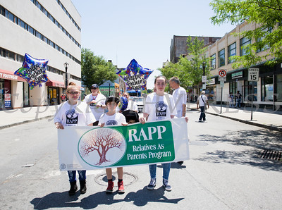 Relatives As Parents Program (RAPP) participated in the annual Father's Day Parade held in Poughkeepsie on Saturday, June 18, 2016. Hudson Valley Press/CHUCK STEWART, JR.