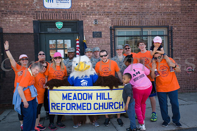 Meadow Hill Reformed Church participated in Habitat for Humanity of Greater Newburgh's 17th Annual Walk for Housing in the City of Newburgh on Sunday, April 17, 2016. Hudson Valley Press/CHUCK STEWART, JR.