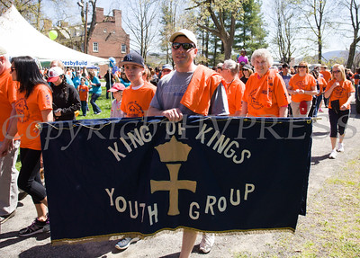 King of Kings Youth Group participated in Habitat for Humanity of Greater Newburgh's 17th Annual Walk for Housing in the City of Newburgh on Sunday, April 17, 2016. Hudson Valley Press/CHUCK STEWART, JR.