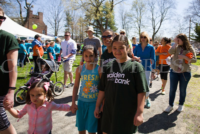 Walden Savings Bank participated in Habitat for Humanity of Greater Newburgh's 17th Annual Walk for Housing in the City of Newburgh on Sunday, April 17, 2016. Hudson Valley Press/CHUCK STEWART, JR.