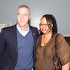 US Rep Sean Patrick Maloney (NY-18) and Yvonne Flowers pose for a picture as the Poughkeepsie Healthy Black and Latino Coalition celebrated Black History Month with a Healthy Living Expo at the Family Partnership Center in Poughkeepsie, NY on Saturday, February 27, 2016. Hudson Valley Press/CHUCK STEWART, JR.
