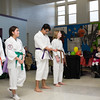 Youth perform a martial arts demonstration as the Poughkeepsie Healthy Black and Latino Coalition celebrated Black History Month with a Healthy Living Expo at the Family Partnership Center in Poughkeepsie, NY on Saturday, February 27, 2016. Hudson Valley Press/CHUCK STEWART, JR.