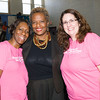 Lana Williams-Scott, Arlette Murrain and Annette Marzan pose for a picture as the Poughkeepsie Healthy Black and Latino Coalition celebrated Black History Month with a Healthy Living Expo at the Family Partnership Center in Poughkeepsie, NY on Saturday, February 27, 2016. Hudson Valley Press/CHUCK STEWART, JR.