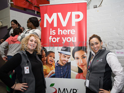 MVP participated in the Poughkeepsie Healthy Black and Latino Coalition's celebration of Black History Month which included a Healthy Living Expo at the Family Partnership Center in Poughkeepsie, NY on Saturday, February 27, 2016. Hudson Valley Press/CHUCK STEWART, JR.