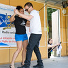 Vilma Morales-Hasbrouck and Lucas Fesko of the Dojo Dance Co. demonstrate traditional Latin dances during the Poughkeepsie Healthy Black and Latino Coalition celebration of Hispanic Heritage Month at the Hispanic Heritage Festival on Saturday, September 17, 2016 at Mansion Square Park in Poughkeepsie, NY. Hudson Valley Press/CHUCK STEWART, JR.