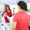 Nora Gallardo-Hamond and Jo Ann Brown represent the National Alliance of Mental Illness at the Poughkeepsie Healthy Black and Latino Coalition celebration of Hispanic Heritage Month at the Hispanic Heritage Festival on Saturday, September 17, 2016 at Mansion Square Park in Poughkeepsie, NY. Hudson Valley Press/CHUCK STEWART, JR.