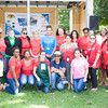 Members of the Poughkeepsie Healthy Black and Latino Coalition who organized the celebration of Hispanic Heritage Month at the Hispanic Heritage Festival on Saturday, September 17, 2016 at Mansion Square Park in Poughkeepsie, NY. Hudson Valley Press/CHUCK STEWART, JR.