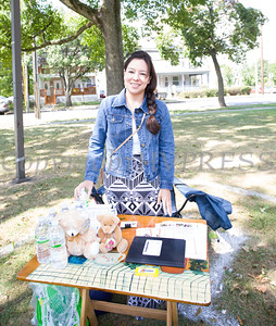 Jazmin Balcazar represents the Center for Prevention of Child Abuse at the Poughkeepsie Healthy Black and Latino Coalition celebration of Hispanic Heritage Month at the Hispanic Heritage Festival on Saturday, September 17, 2016 at Mansion Square Park in Poughkeepsie, NY. Hudson Valley Press/CHUCK STEWART, JR.
