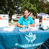 Sugemny Capellan represents Fidelis Care New York at the Poughkeepsie Healthy Black and Latino Coalition celebration of Hispanic Heritage Month at the Hispanic Heritage Festival on Saturday, September 17, 2016 at Mansion Square Park in Poughkeepsie, NY. Hudson Valley Press/CHUCK STEWART, JR.