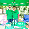 Jessica Vollaro and Adneris Laza represent The Institute for Family Health at the Poughkeepsie Healthy Black and Latino Coalition celebration of Hispanic Heritage Month at the Hispanic Heritage Festival on Saturday, September 17, 2016 at Mansion Square Park in Poughkeepsie, NY. Hudson Valley Press/CHUCK STEWART, JR.