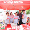 Manager Jennifer Albright (far left) and Pharmacist Jia Kuang (second from right) along with employees represent Walgreens at the Poughkeepsie Healthy Black and Latino Coalition celebration of Hispanic Heritage Month at the Hispanic Heritage Festival on Saturday, September 17, 2016 at Mansion Square Park in Poughkeepsie, NY. Hudson Valley Press/CHUCK STEWART, JR.