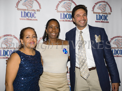 The Latino Democratic Committee of Orange County held their Thirteenth Annual Fall Dinner Dance at Cafe Internationale in Newburgh, NY on Saturday, October 15, 2016. Hudson Valley Press/CHUCK STEWART, JR.
