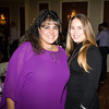 Hudson Valley Federal Credit Union HR Sr. Recruiter Tania Gonzalez and HR Recruiting Coordinator Jessica Fenech at Latinos Unidos of the Hudson Valley's 15th Anniversary and its 11th Annual Hispanic Heritage Cultural Celebration at Anthony's Pier 9 in New Windsor, NY on Friday, October 14, 2016. Hudson Valley Press/CHUCK STEWART, JR.