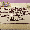 A cake from Valencia Bakery was created for Latinos Unidos of the Hudson Valley 15th Anniversary and its 11th Annual Hispanic Heritage Cultural Celebration at Anthony's Pier 9 in New Windsor, NY on Friday, October 14, 2016. Hudson Valley Press/CHUCK STEWART, JR.