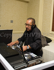 Rene Campos of DMU Music provided the music for Latinos Unidos of the Hudson Valley's 15th Anniversary and its 11th Annual Hispanic Heritage Cultural Celebration at Anthony's Pier 9 in New Windsor, NY on Friday, October 14, 2016. Hudson Valley Press/CHUCK STEWART, JR.