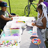Children create piece of art during the 19th year of the all-free National Night Out event in the City of Newburgh on Tuesday, August 2, 2016. Hudson Valley Press/CHUCK STEWART, JR.