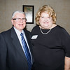 Spotlight Award Recipient Richard Roberts with Orange County Democratic Women President Bette Ann Yarus at the OCDW 2016 Gala Dinner on Saturday, April 16, 2016 at La Casa Vicina in New Windsor, NY. Hudson Valley Press/CHUCK STEWART, JR.
