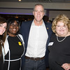 Distinguished guests Sara Colletti, a Middletown Police Officer, and Narene Russell, a retired NYS Correction Captain, with US Rep Sean Patrick Maloney (NY-18) and Orange County Democratic Women President Bette Ann Yarus at the 2016 OCDW Gala Dinner on Saturday, April 16, 2016 at La Casa Vicina in New Windsor, NY. Hudson Valley Press/CHUCK STEWART, JR.