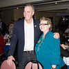 US Rep Sean Patrick Maloney (NY-18) with Mary Olivera at the Orange County Democratic Women 2016 Gala Dinner on Saturday, April 16, 2016 at La Casa Vicina in New Windsor, NY. Hudson Valley Press/CHUCK STEWART, JR.