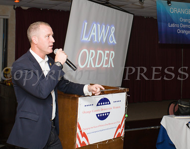 US Rep Sean Patrick Maloney (NY-18) was the Keynote Speaker for the Orange County Democratic Women 2016 Gala Dinner on Saturday, April 16, 2016 at La Casa Vicina in New Windsor, NY. Hudson Valley Press/CHUCK STEWART, JR.