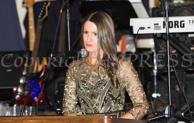 Event co-chair Lisa Sommers offers remarks during Cornerstone Family Healthcare's 17th Annual Pillars of the Community Gala held at Anthony's Pier 9 on Saturday, November 5, 2016. Hudson Valley Press/CHUCK STEWART, JR.