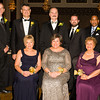 Timothy Scannell, Paul Ernenwein, Marlene Medina, Marcel Martino, Linda S. Muller, Eric Gatsik, Daisy Vale, and David Dendy pose for a picture at Cornerstone Family Healthcare's 17th Annual Pillars of the Community Gala held at Anthony's Pier 9 on Saturday, November 5, 2016. Hudson Valley Press/CHUCK STEWART, JR.