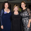 Christine Fitzgerald, Chair - Safe Homes Board of Directors, Mildred Warren Good-Neighbor Award recipient Dr. Michele Winchester-Vega and Kellyann Kostyal-Larrier, Executive Director Safe Homes of Orange County during the 30th anniversary celebration of Safe Homes of Orange County gala on Friday, October 21, 2016. Hudson Valley Press/CHUCK STEWART, JR.