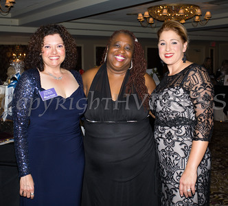 Christine Fitzgerald, Chair - Safe Homes Board of Directors, Hope Award recipient Lavon Morris-Grant and Kellyann Kostyal-Larrier, Executive Director Safe Homes of Orange County during the 30th anniversary celebration of Safe Homes of Orange County gala on Friday, October 21, 2016. Hudson Valley Press/CHUCK STEWART, JR.
