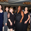 Christine Fitzgerald, Chair - Safe Homes Board of Directors, Family Justice Center Award recipient Legal Services of the Hudson Valley (Rachel Chazin Halperin accepting), Mildred Warren Good-Neighbor Award recipient Dr. Michele Winchester-Vega, Hope Award recipient Lavon Morris-Grant, Jane Chertock Legacy Award recipient Dr. Marie Cantu and Kellyann Kostyal-Larrier, Executive Director Safe Homes of Orange County during the 30th anniversary celebration of Safe Homes of Orange County gala on Friday, October 21, 2016. Hudson Valley Press/CHUCK STEWART, JR.