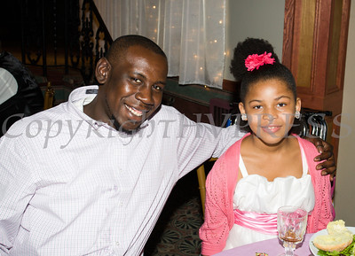 Young girls and their male role models enjoy the Boys & Girls Club of Newburgh's 2nd Annual Stand By Me Gala on Saturday, May 14 at the Meadowbrook Lodge in New Windsor, NY. Hudson Press/CHUCK STEWART, JR.