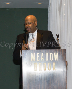 Boys & Girls Club of Newburgh Executive Director Kevin White offers remarks during the 2nd Annual Stand By Me Gala on Saturday, May 14 at the Meadowbrook Lodge in New Windsor, NY. Hudson Press/CHUCK STEWART, JR.